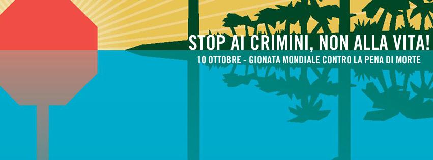 10 ottobre - contro la pena di morte