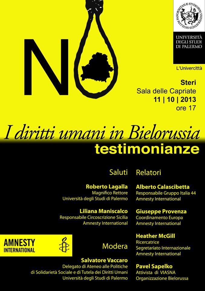 I diritti umani in Bielorussia - Testimonianze