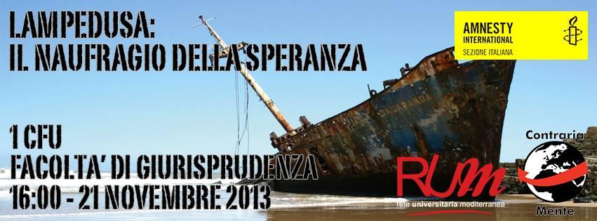 Lampedusa: il naufragio della speranza
