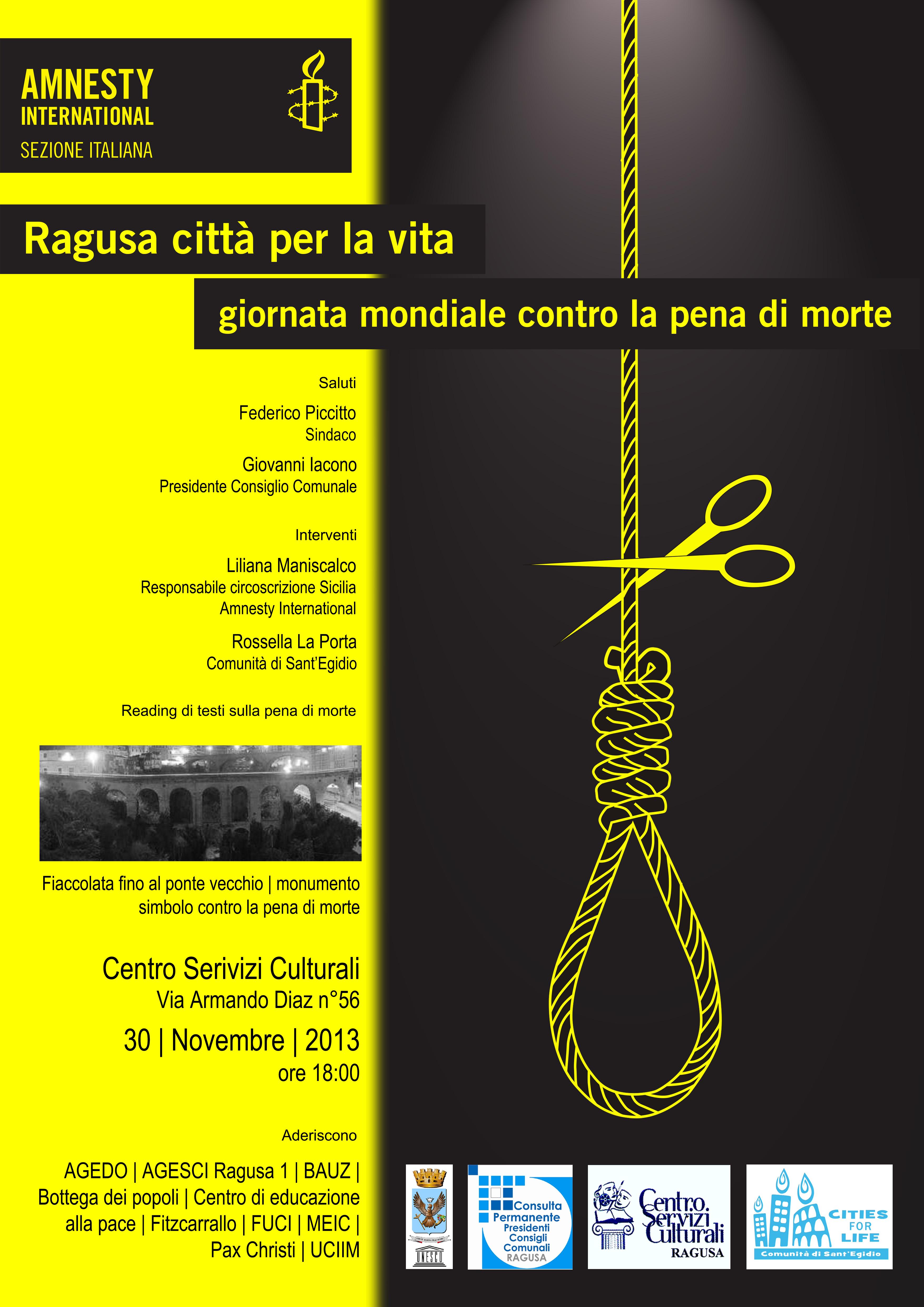 locandina pena di morte