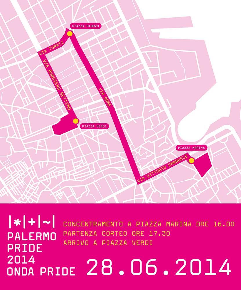 percorso palermo pride 2014