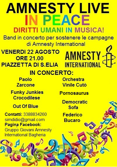 Amnesty live in peace 2014