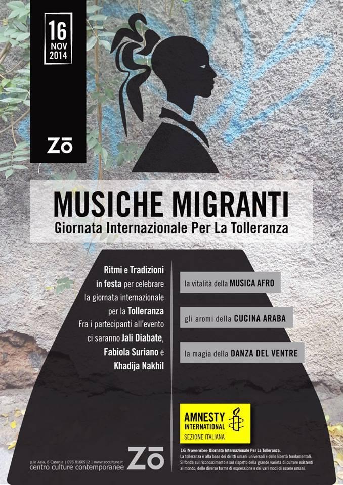 Musiche migranti - Catania