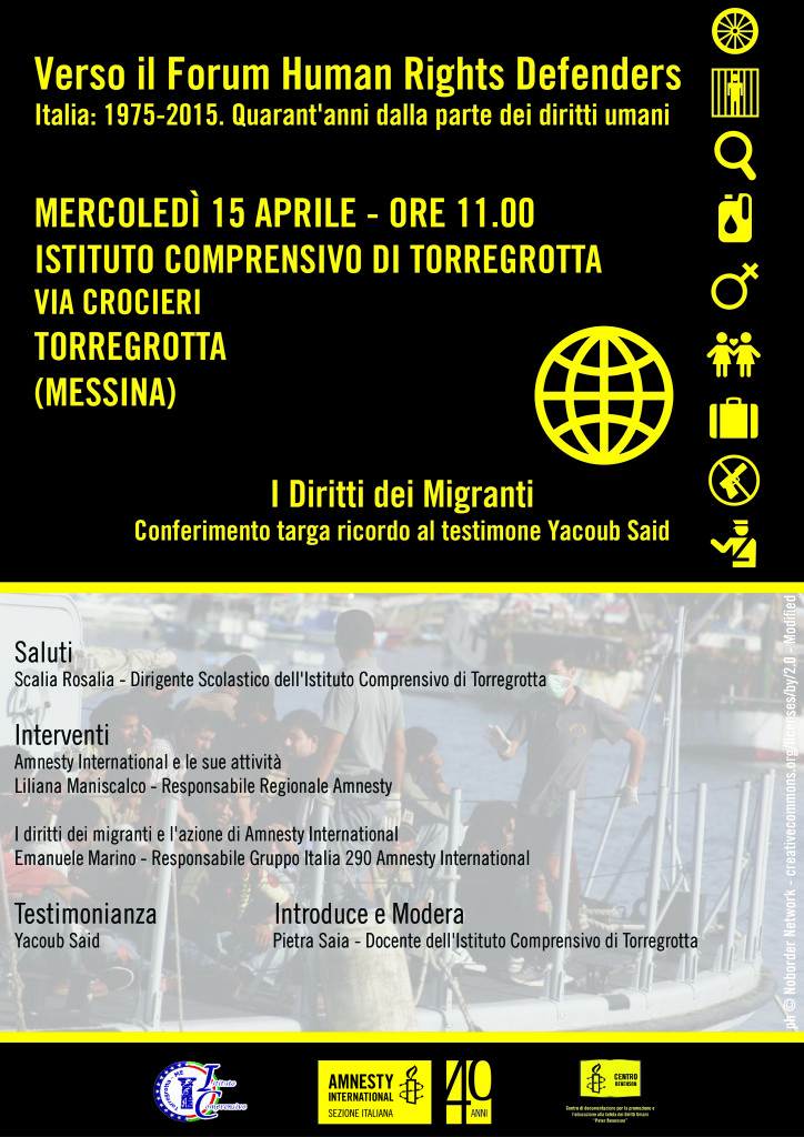 locandina forum hrd 2015 messina