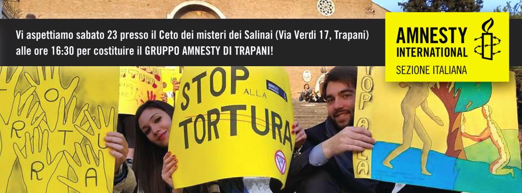 A Trapani il primo incontro del costituendo Gruppo Amnesty
