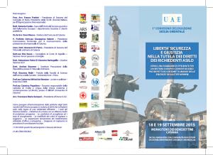 """Amnesty al convegno """"libertà sicurezza e giustizia nella tutela dei diritti dei richiedenti asilo"""" – Catania"""