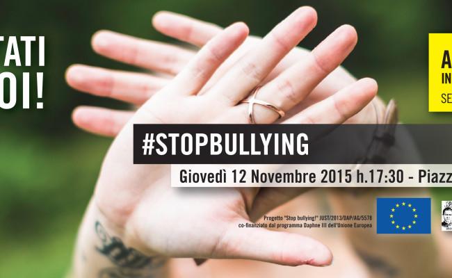 """Mobilitazione degli studenti a Palermo per il progetto """"Stop Bullying!"""" di Amnesty International"""