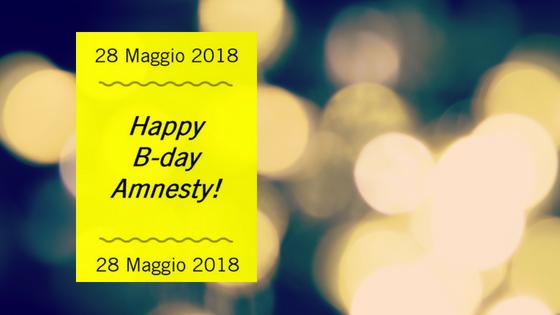 Happy Birthday Amnesty!